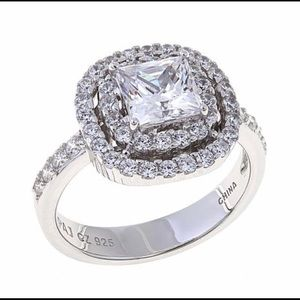 Jewelry - Absolute Princess Cut Double Halo Ring.